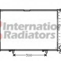 Radiator racire motor VAN WEZEL 30002211