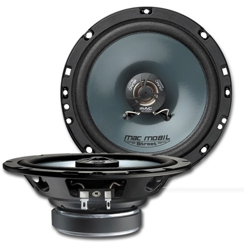 Boxe auto coaxiale Mac Audio Mac Mobil Street 16.2 F, 16cm, 2cai, 50W RMS, adancime 40mm, set 2 difuzoare