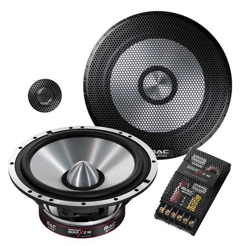 Boxe auto componente Mac Audio Star X 2.16, 16.5cm , 2cai, 200W RMS, set 2 difuzoare
