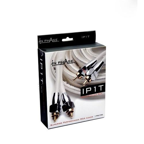 Cablu RCA stereo HiFi In phAase IP 1T, 1m