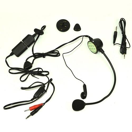 Casti cu microfon pentru ciclism Albrecht FHG-301 Cod 41861