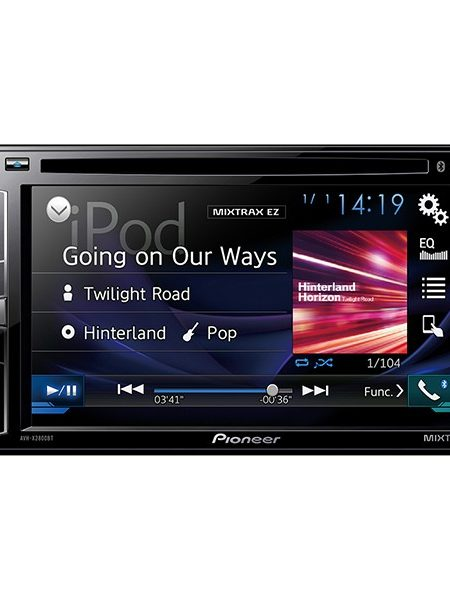 "Media Player auto Pioneer AVH-X2800BT, 4x50W, Touchscreen 6.2"", CD, DVD, AUX, Bluetooth, 2DIN"