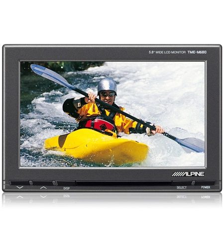 """Monitor tetiera slave pentru Alpine TME-M680EM, 5.8"""""""