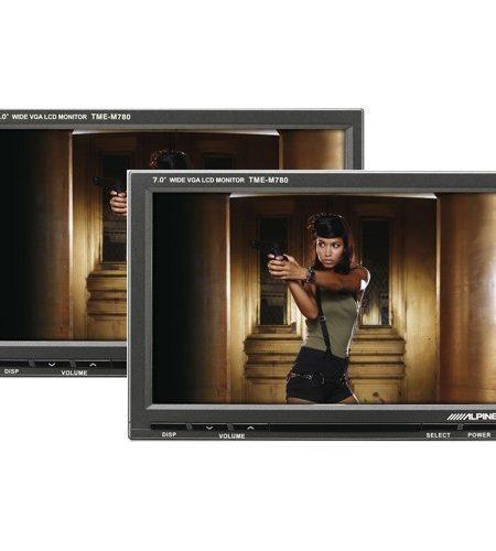 """Monitor tetiera slave pentru Alpine TME-M780, 7"""""""
