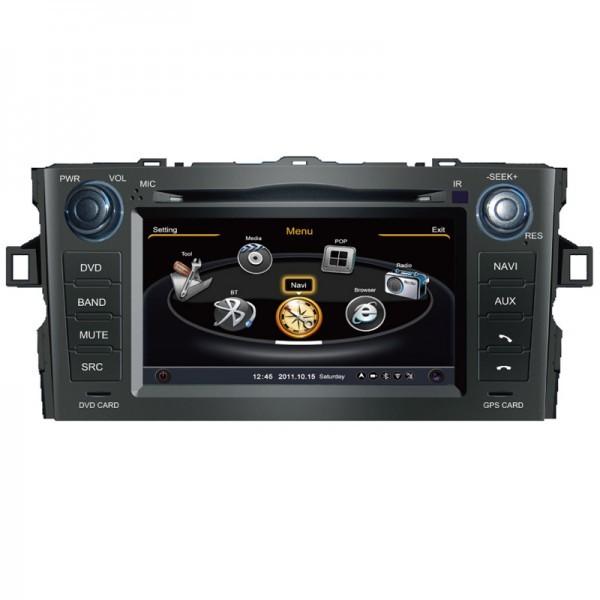 Navigatie dedicata pentru Toyota Auris 2007-2013, Edotec EDT-C028, sistem de operare windows
