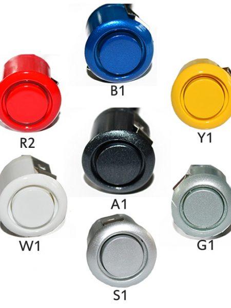 Pachet senzori de parcare audio video si camera video auto