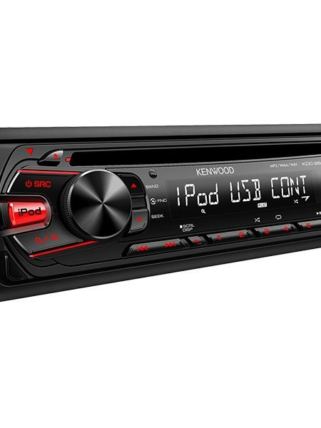 Player auto Kenwood KDC-261UR, 4x50W, USB, AUX, CD, iPod/iPhone, Panou frontal detasabil