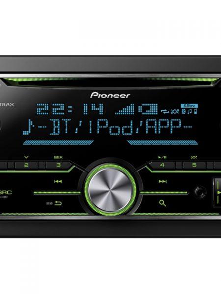 Player auto Pioneer FH-X730BT, 4 x 50W, 2DIN, AUX In, USB, Bluetooth, 2 perechi de iesiri RCA, iPod/iPhone si Android compatibil