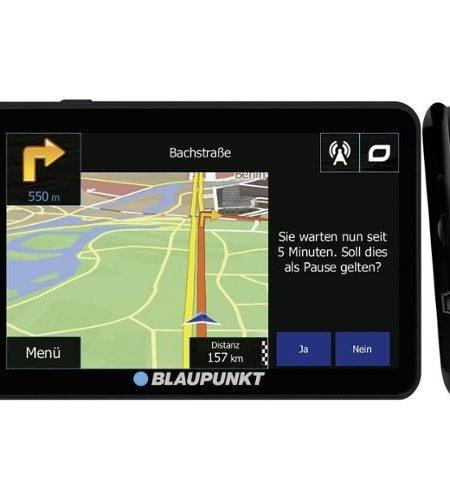 Sistem de navigatie portabil 5 inch Blaupunkt TravelPilot 54 T EU LMU soft camion, Tom Tom Truck.Bluetooth, TCM Activ si Avertizare benzi