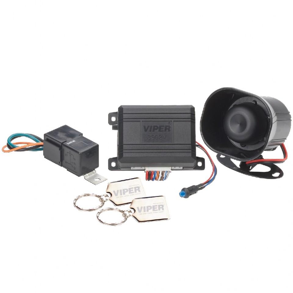Sistem de securitate VIPER 3902V: foloseste telecomanda originala a masinii