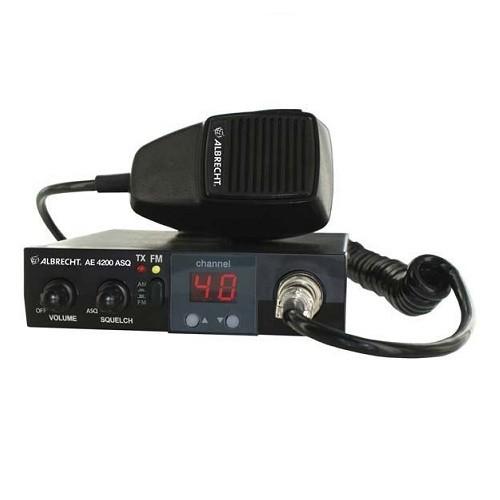 Statie radio auto CB Albrecht AE 4200R cu ASQ 4 watt Cod 12012
