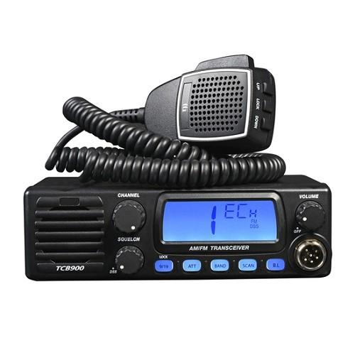 Statie radio auto CB TTi TCB-900, alimentare 12-24V si difuzor frontal