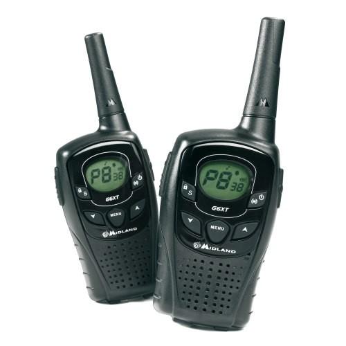 Statie radio PMR portabila Midland G6 XT set cu 2bc