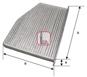 Filtru aer habitaclu SOFIMA S 4124 CA