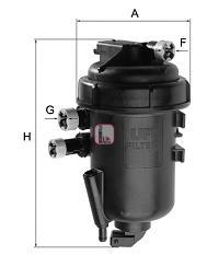 Filtru combustibil SOFIMA S 5175 GC