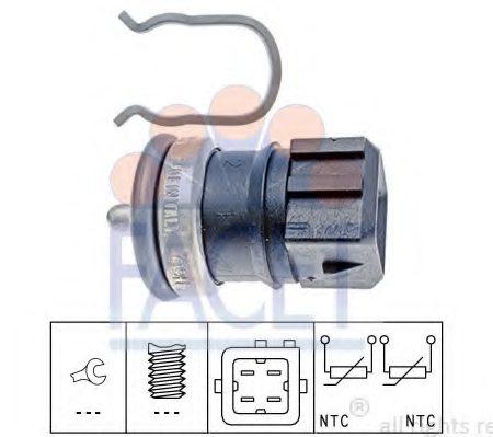Senzor temperatura lichid de racire FACET 7.3251