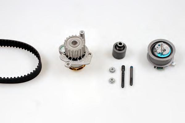 Set pompa apa + curea dintata HEPU PK05650