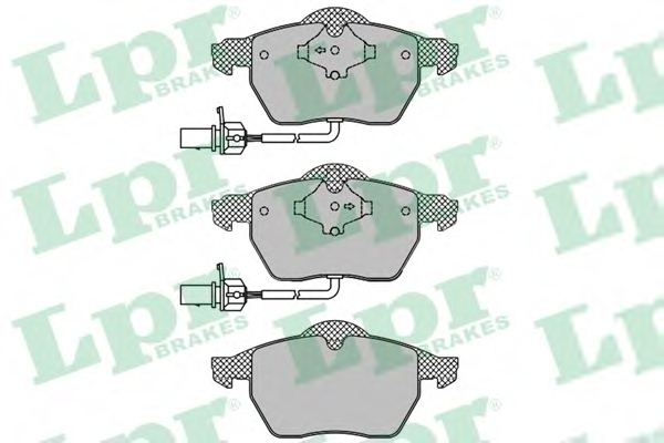 Set placute frana LPR 05P1119
