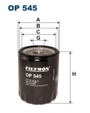 Filtru ulei FILTRON OP545
