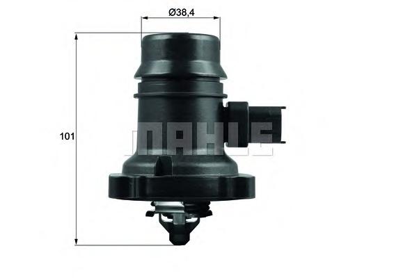 Termostat lichid racire MAHLE ORIGINAL TM 37 103