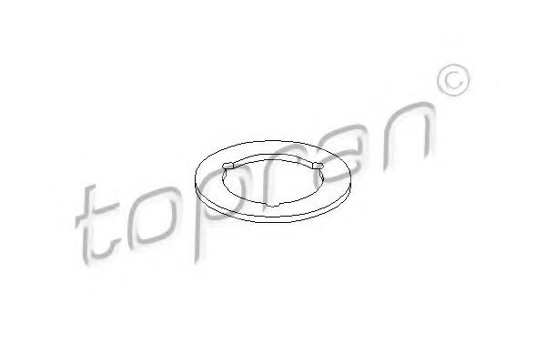 Garnitura capac alimemtare ulei TOPRAN 109 096