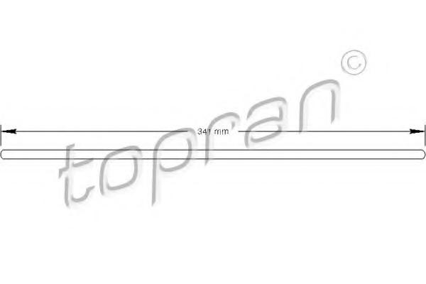 Rulment de presiune ambreiaj TOPRAN 100 074