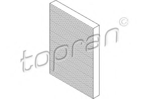Filtru aer habitaclu TOPRAN 109 044