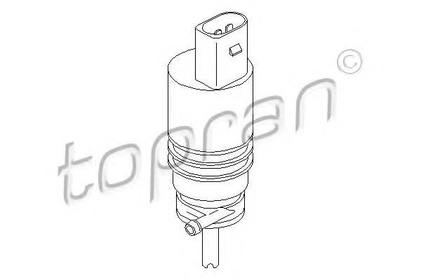 Pompa de apa spalare parbriz TOPRAN 107 818