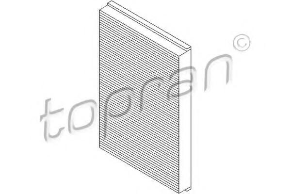 Filtru aer habitaclu TOPRAN 205 798