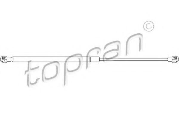 Amortizor portbagaj TOPRAN 301 036
