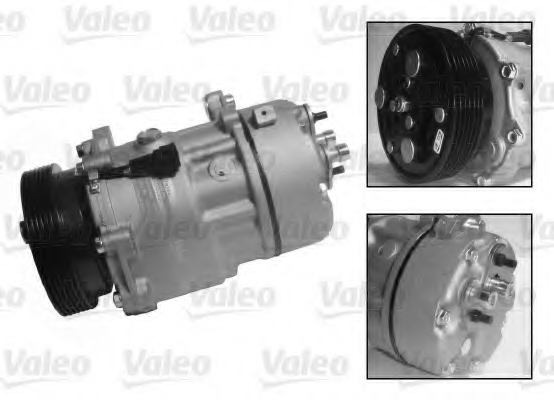 Compresor climatizare VALEO 813700