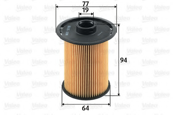 Filtru combustibil VALEO 587918