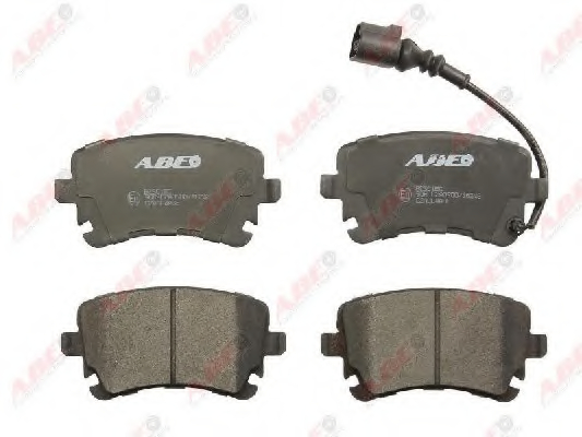Set placute frana ABE C2A004ABE