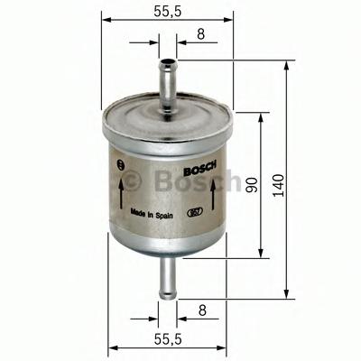 Filtru combustibil BOSCH 0 450 905 280