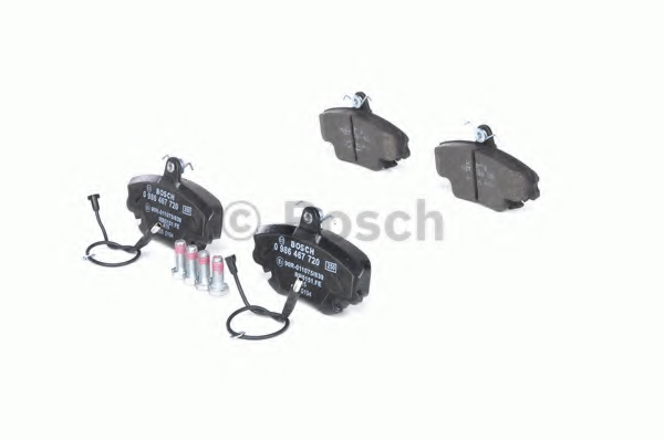 Set placute frana BOSCH 0 986 467 720