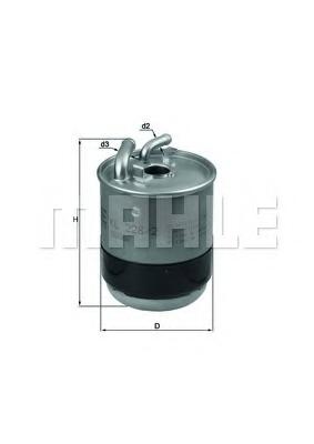 Filtru combustibil KNECHT KL 228/2D
