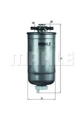 Filtru combustibil KNECHT KL 147D