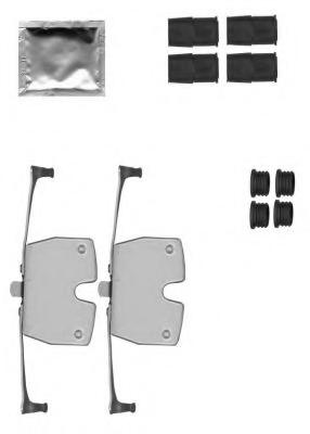 Set accesorii etrier frana TEXTAR 82517700