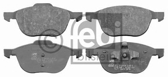 Set placute frana FEBI BILSTEIN 16479