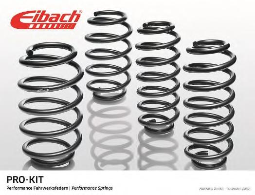Set suspensie arcuri elicoidale EIBACH E10-26-001-01-22