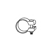 Conector teava sistem de esapament HJS 83 11 8918