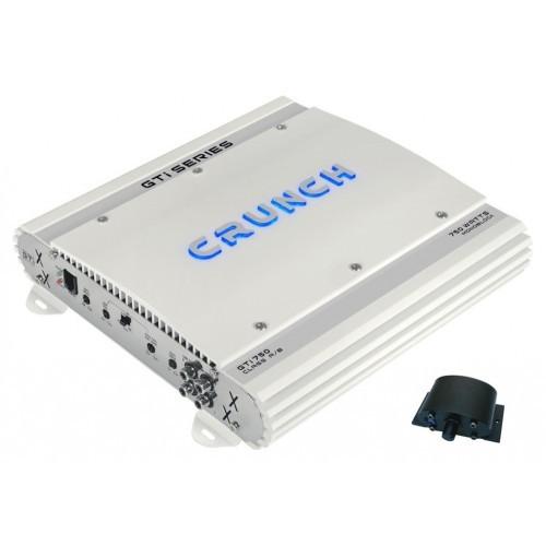 Amplificator auto Crunch GTI-750, 1 canal, 375W RMS/2 Ohmi