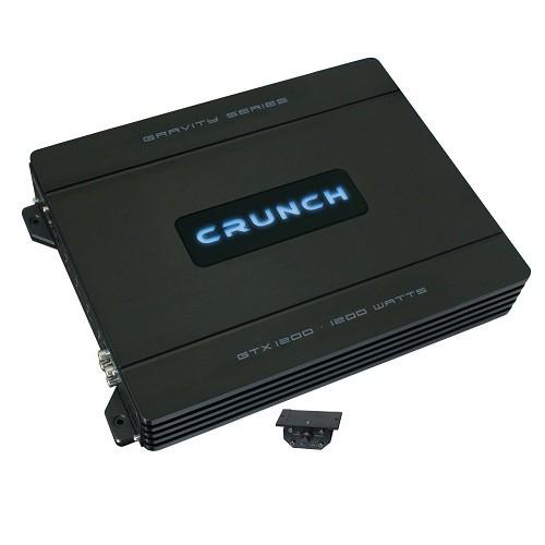Amplificator auto Crunch GTX-1200, 1 canal, 600W RMS/2 Ohmi