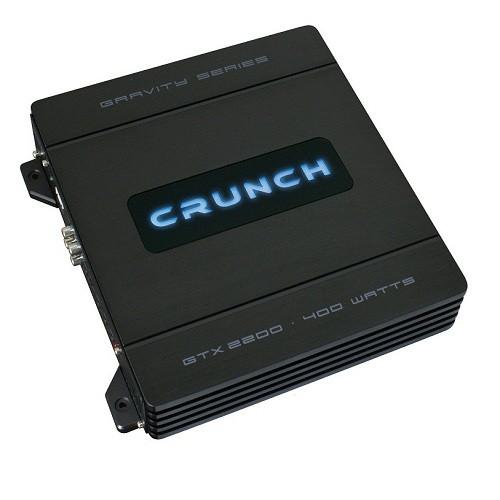 Amplificator auto Crunch GTX-2200, 2 canale, 100W RMS/2 Ohmi