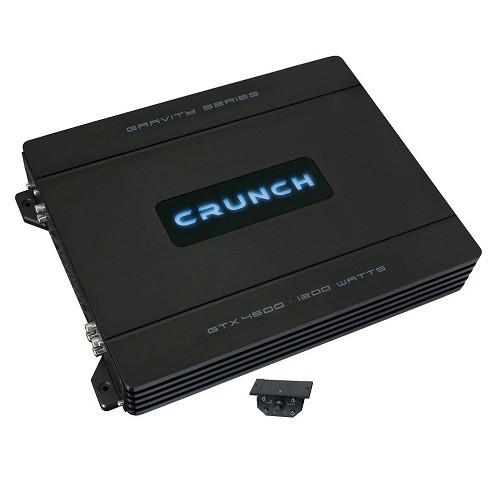 Amplificator auto Crunch GTX-4600, 4 canale, 150W RMS/2 Ohmi