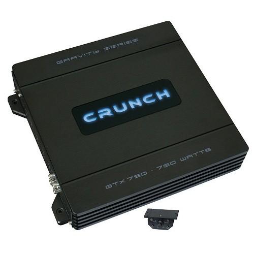 Amplificator auto Crunch GTX-750, 1 canal, 375W RMS/2 Ohmi