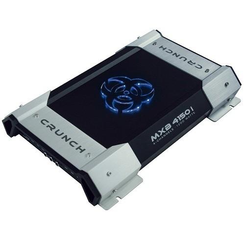Amplificator auto Crunch MXB-4150i, 4 canale, 150W RMS/2 Ohmi