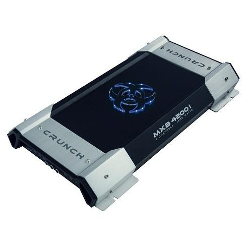 Amplificator auto Crunch MXB-4200i, 4 canale, 2000W RMS/2 Ohmi
