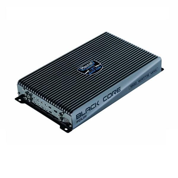 Amplificator auto Magnat Black Core Four , 4 canale , 350 W RMS , 4 Ohmi