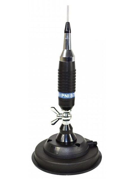 Antena CB PNI S75 cu fluture si magnet 125mm inclus